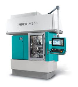 Vícevřetenový soustruh INDEX MS16-6 / MS16-6 Plus