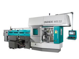 Vícevřetenový soustruh INDEX MS22-6 / MS22-6L / MS22-8