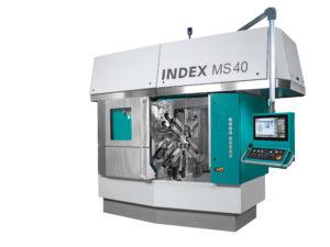 Vícevřetenový soustruh INDEX MS40-6 / MS40-8