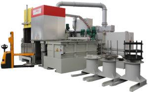 Modulární linka na chemicko-tepelné zpracování kovů pod ochrannou atmosférou