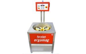 Dokončovací odjehlovací systém Forplan Ergomag