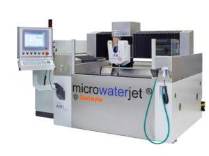 Přesný vodní paprsek Microwaterjet F4